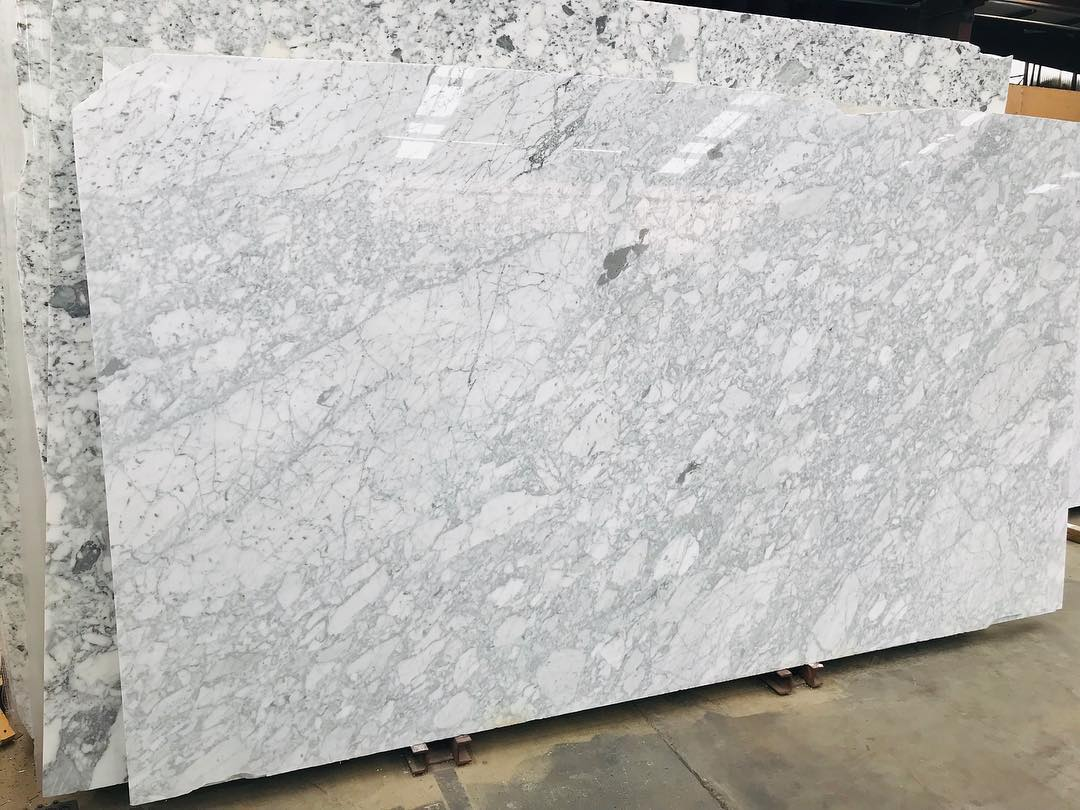 Bianco Gioia Slabs Italian White Polished Marble Slabs
