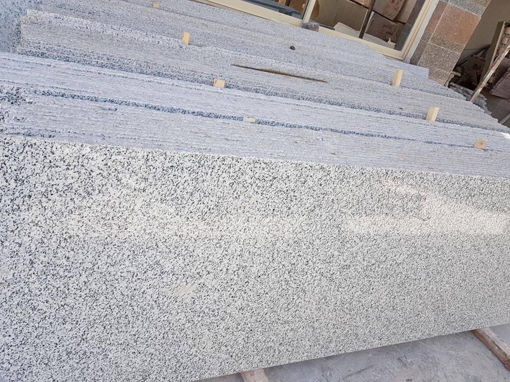 Bianco Halayeb Granite Egyptian Polished White Granite Slabs