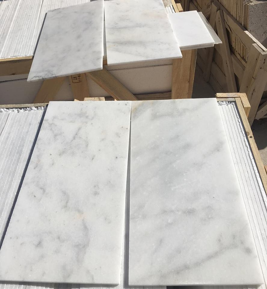Bianco Ibiza White Marble Tiles Polished White Marble Tiles