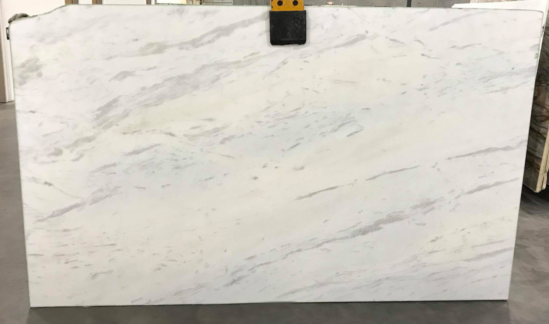 Bianco Olinda White Marble Slabs from Italy