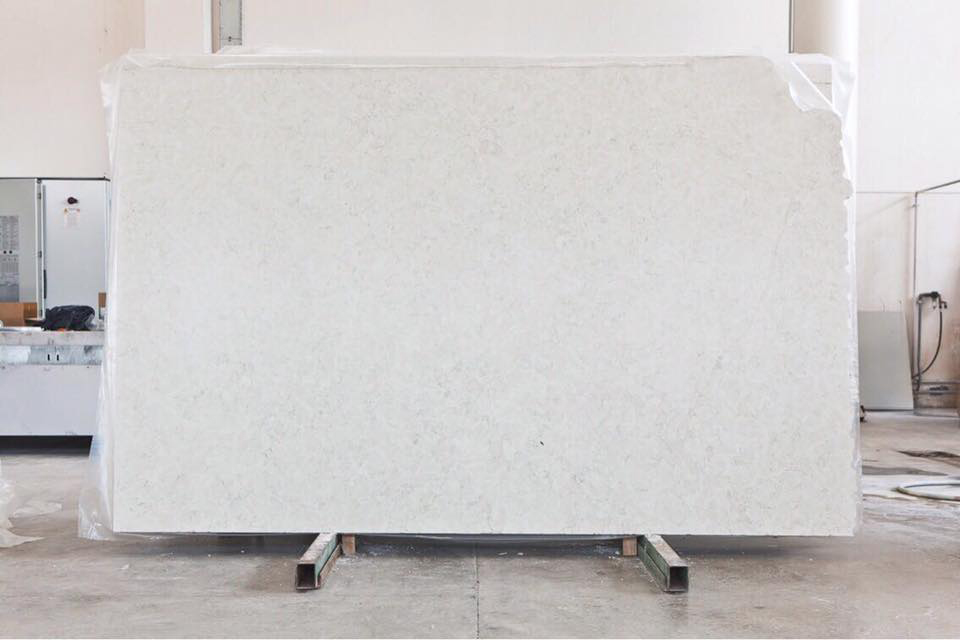Bianco Perlino Polished White Marble Slabs