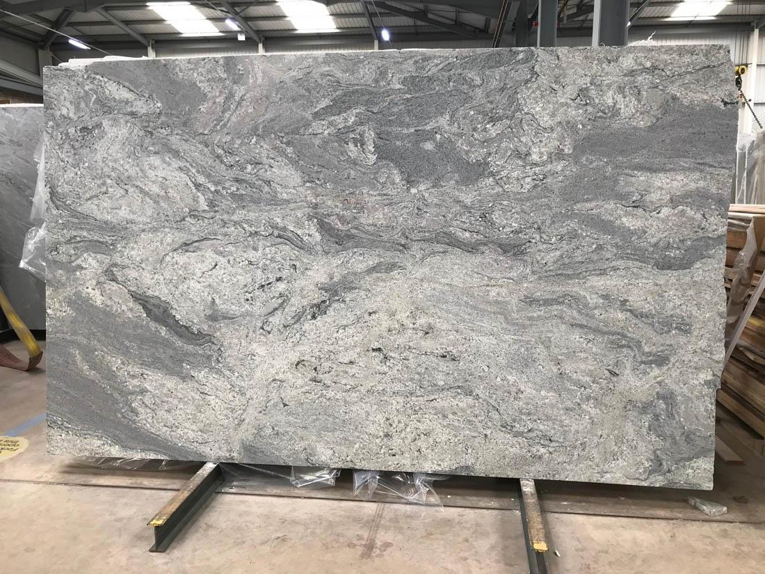 Bianco Piracema Granite Grey Slabs