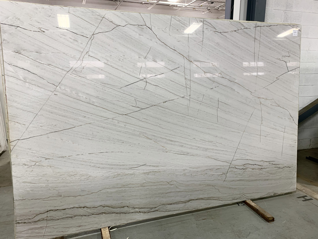 Bianco Quarzo Brazil Polished White Quartzite Stone Slabs