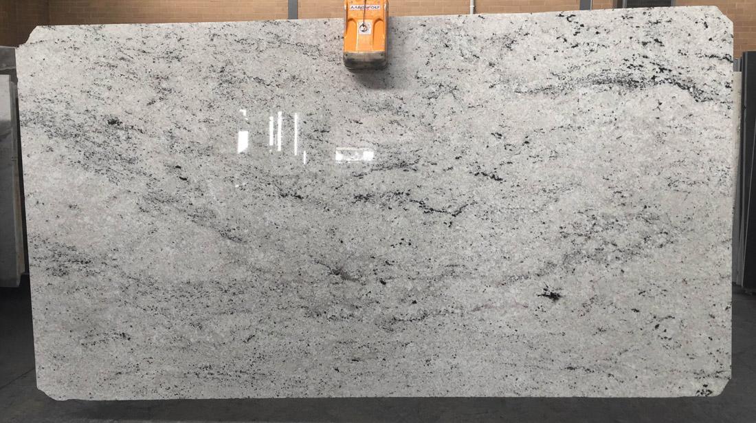 Bianco Romano Granite Slab For Kitchen