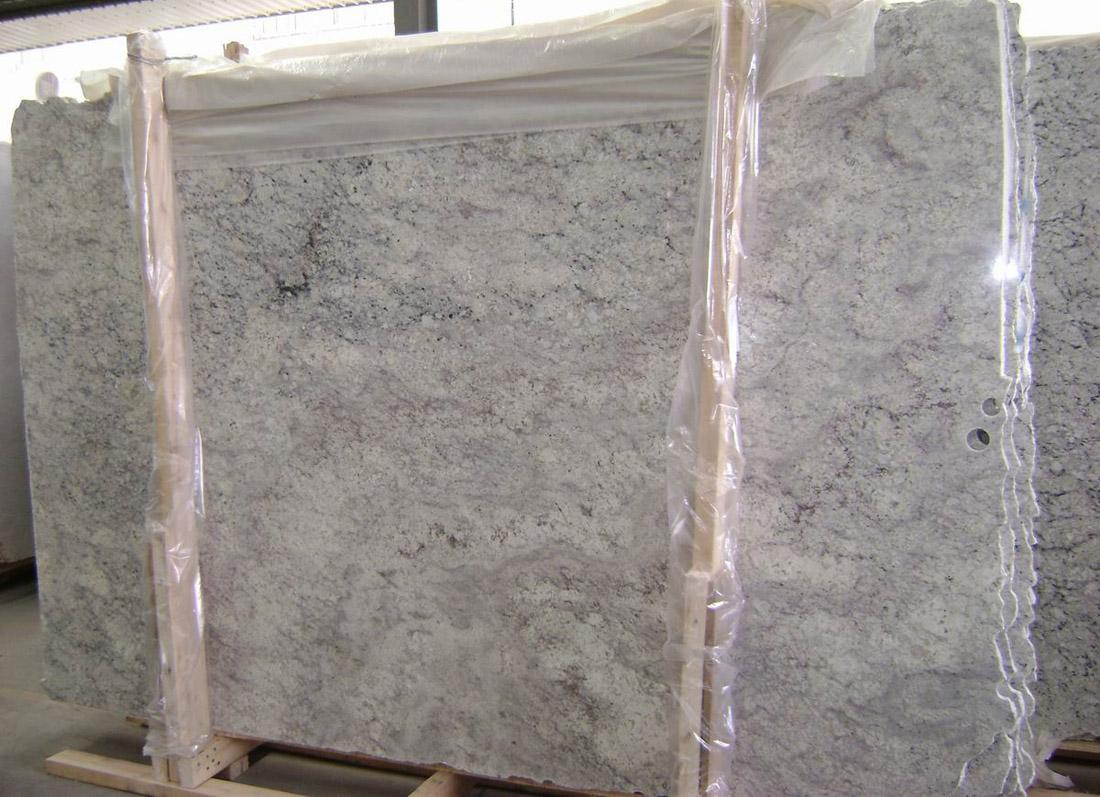 Bianco Romano Granite Slabs Brazil White Granite Slabs for Countertops