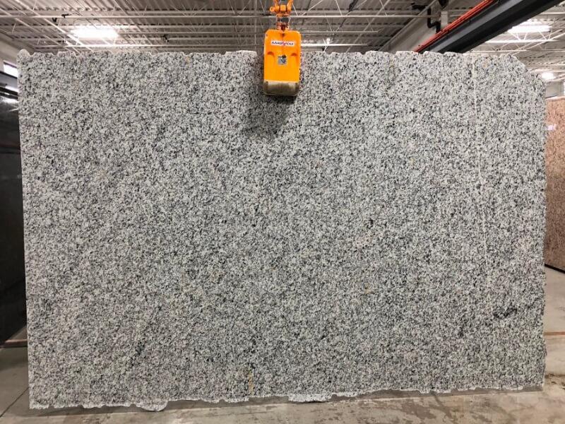 Bianco Sardo Granite Stone Slabs for Kitchen Countertops