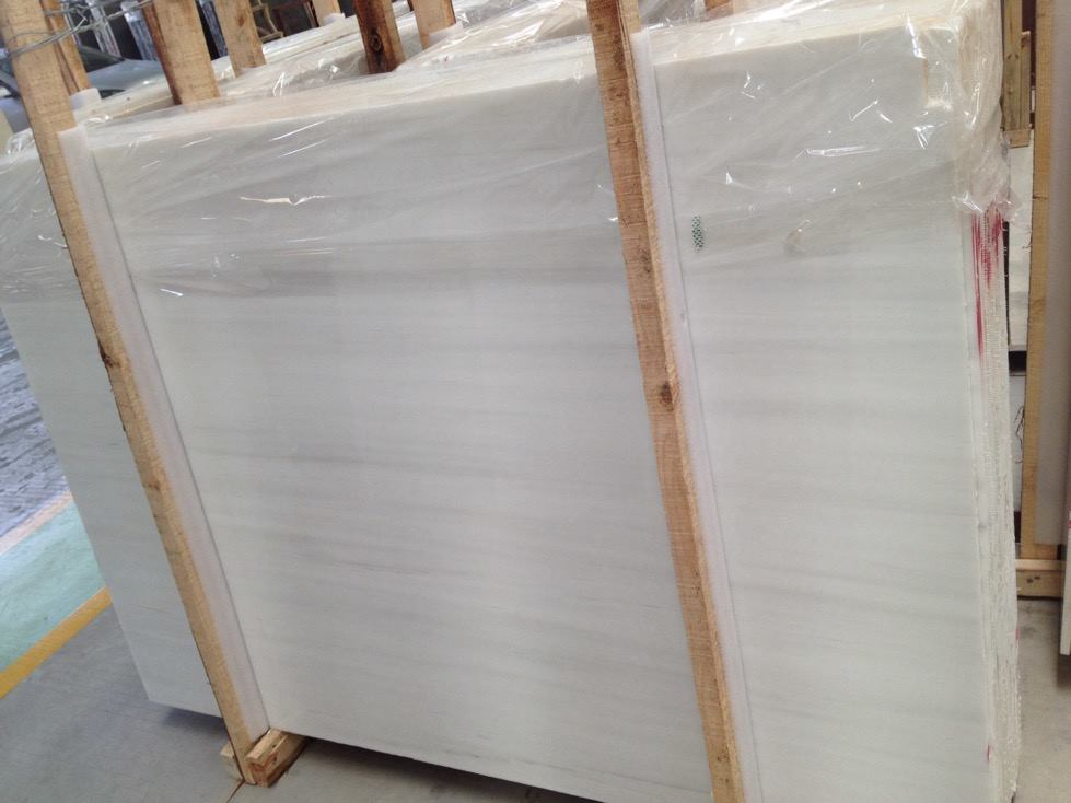 Bianco Solomiti Marble Slabs Polished White Marble Slabs