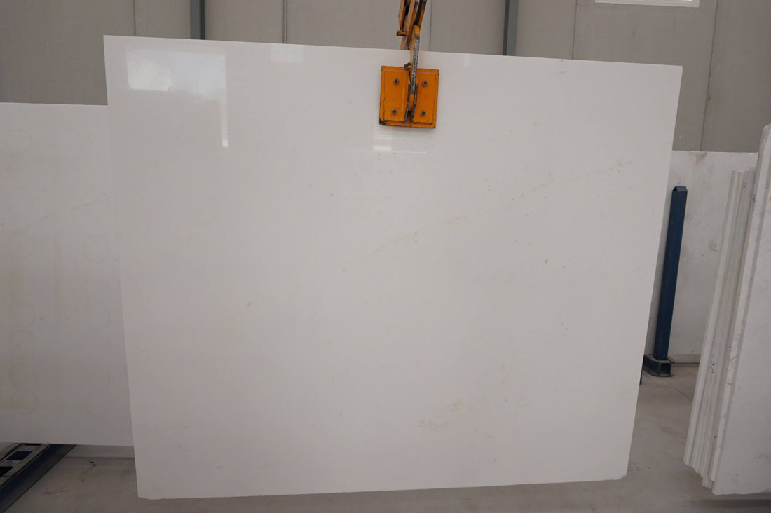 Bianco Thassos Polished White Marble Slabs