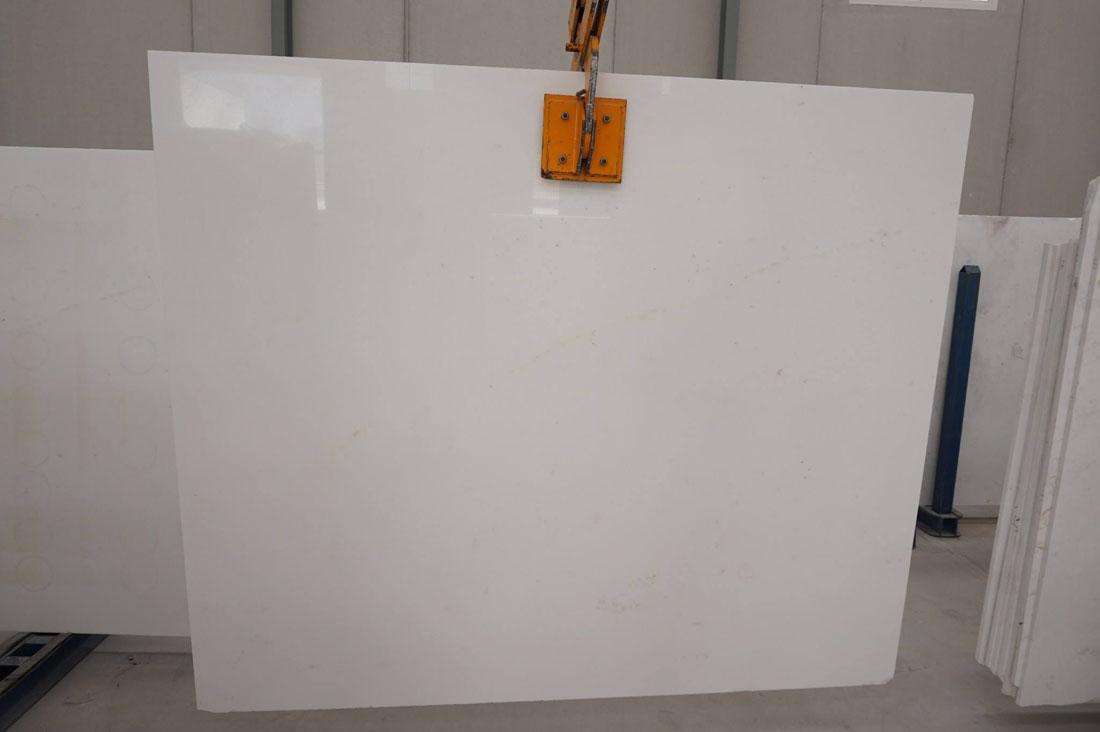 Bianco Thassos Polished White Marble Slabs