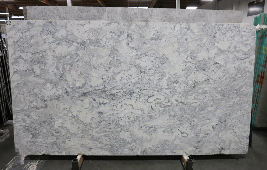Bianco Treviso Honed 3cm Marble Slabs for Vanity Tops