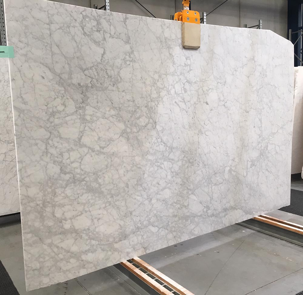 Bianco Venato Slab Polished White Marble Slabs for Vanity Tops