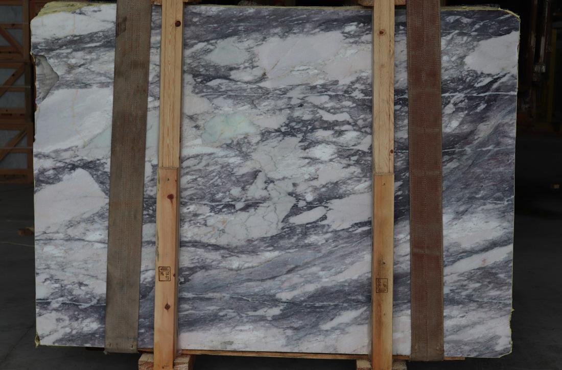 Bianco Viola Marble Stone Slabs Turkish Premium White Marble Slabs for Export