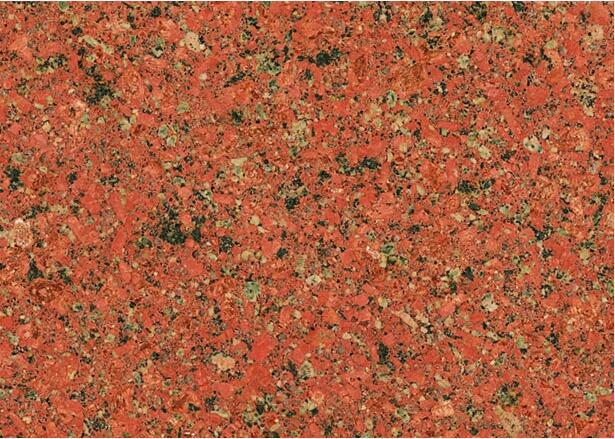 Binh Dinh Red Granite Color