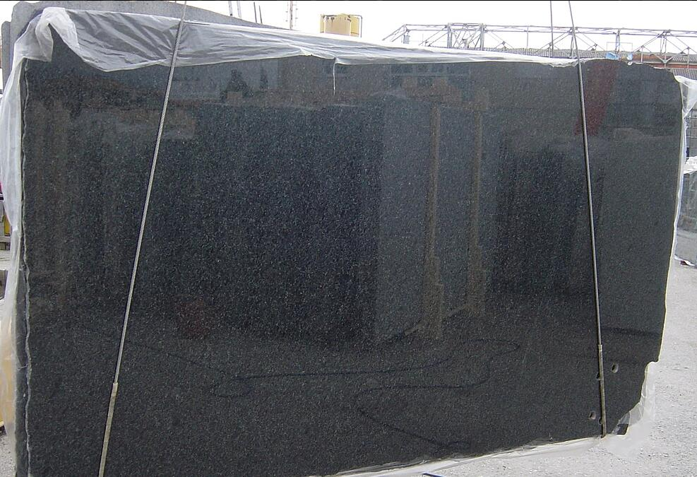 Black Absolute Granite Slabs Polished Black Granite Slabs