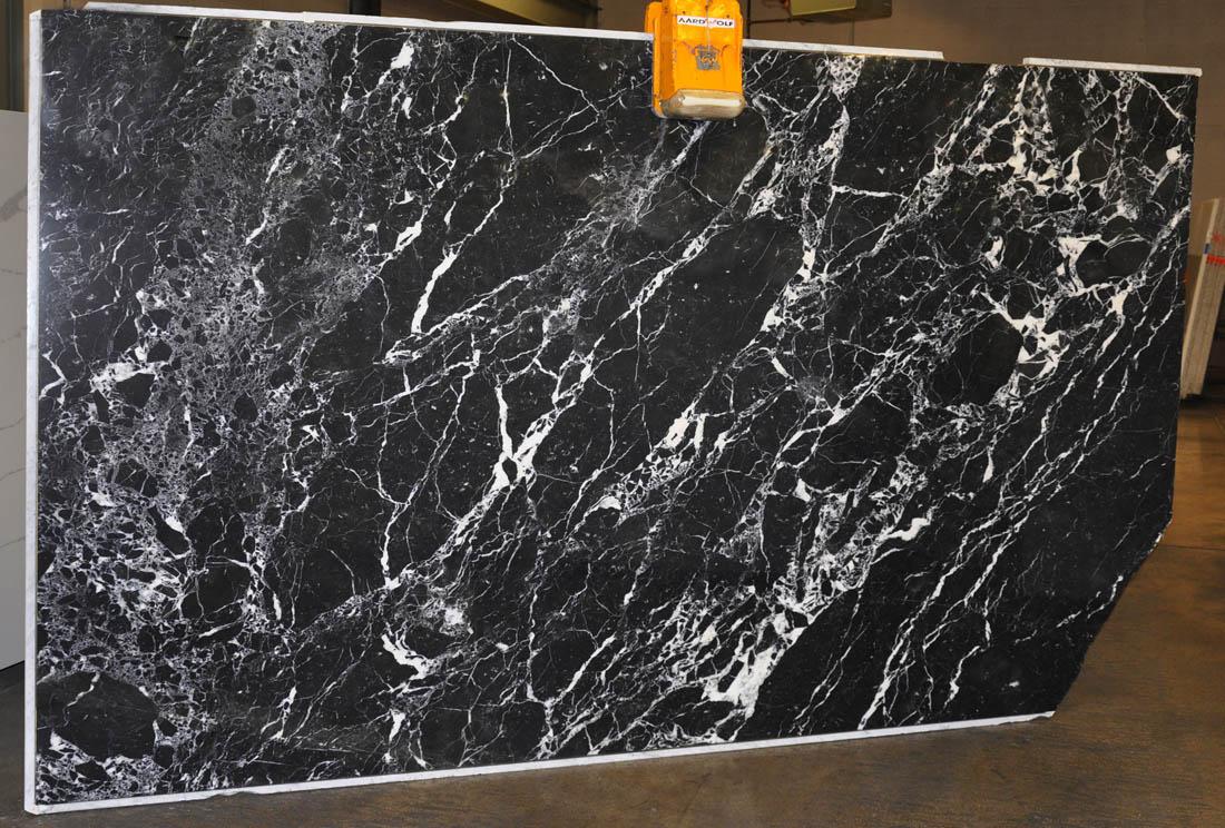 Black Astoria Polished Marble Slabs Greek Black Marble Slabs