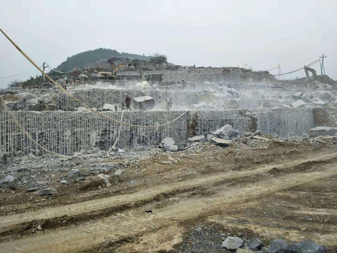 Black Basalt Blocks from Chinese Quarry