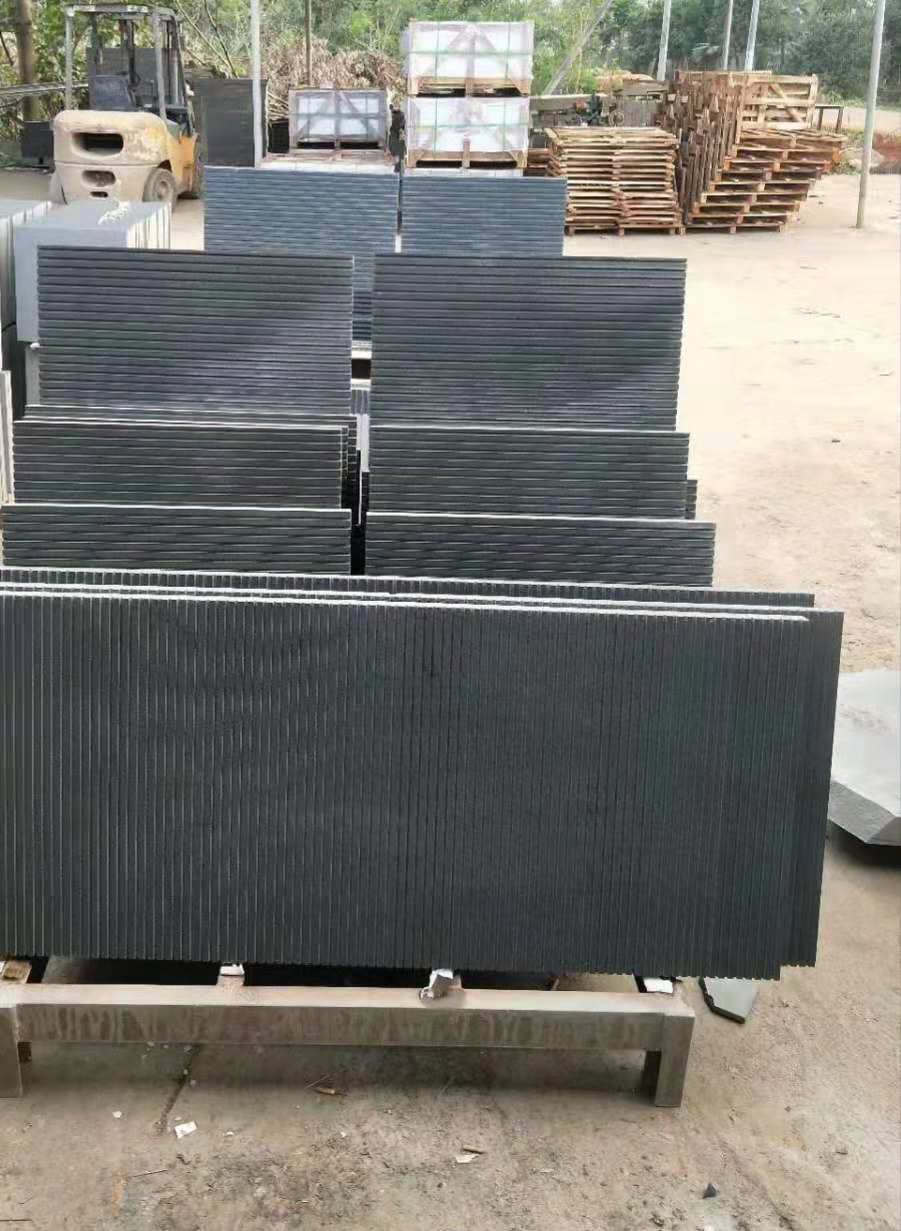 Black Basalt Paving Stone Tiles