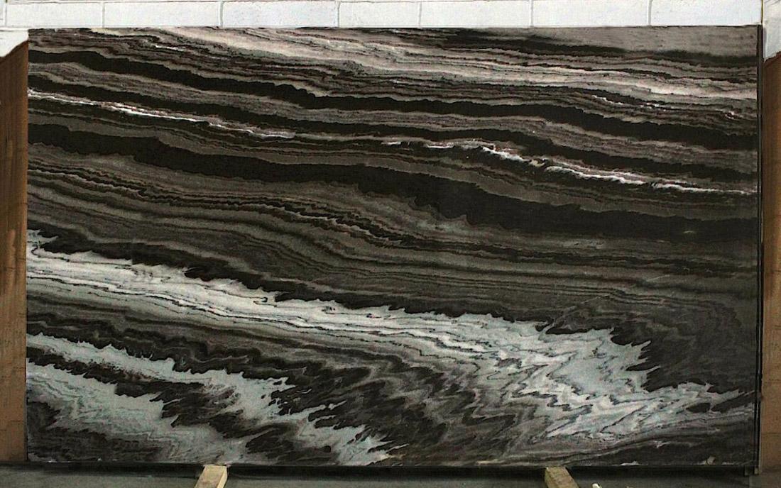 Black Cipollino Marble Slabs Brazilian Brown Marble Slabs