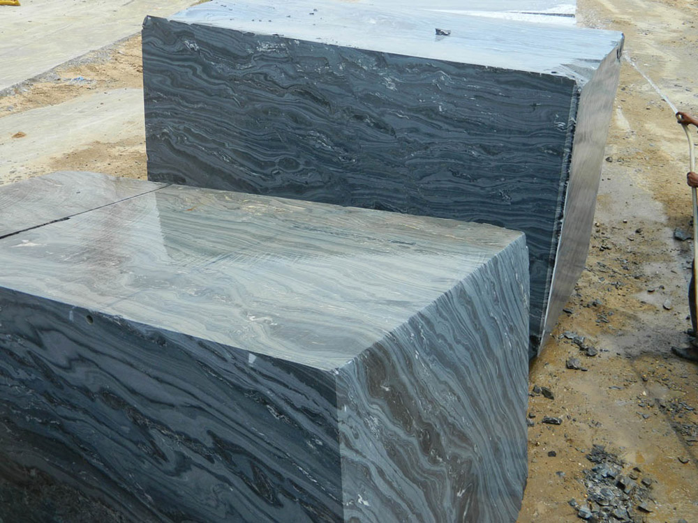 Black Fantasy Block Natural Black Marble Blocks