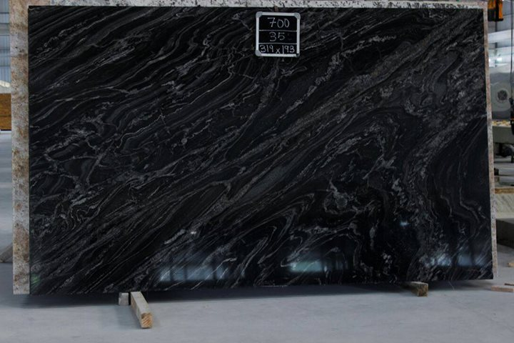 Black Forest Granite Polished Slabs from India Supplier