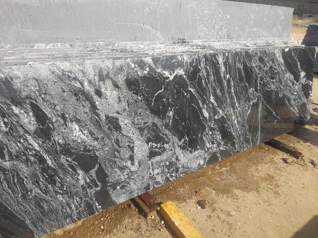 Black Forest Polished Granite Slabs from India