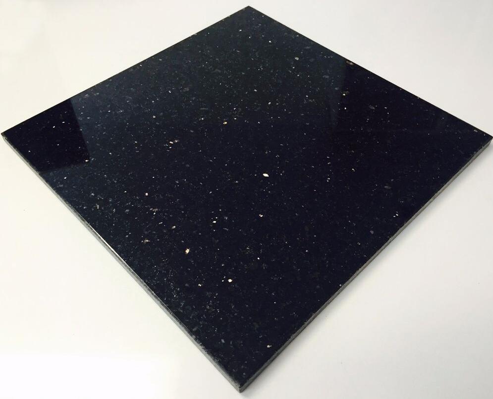 Black Galaxy Tile Indian Granite Polished Black Tiles