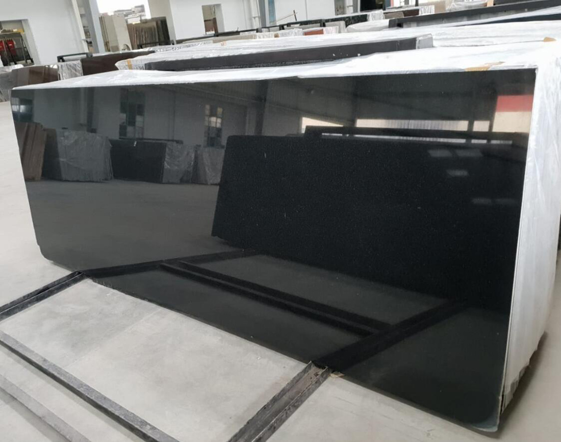 Black Granite Absolute Black Slabs Polished Black Granite Slabs