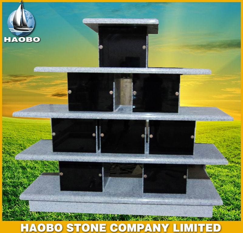 Black Granite Columbarium HBCL005
