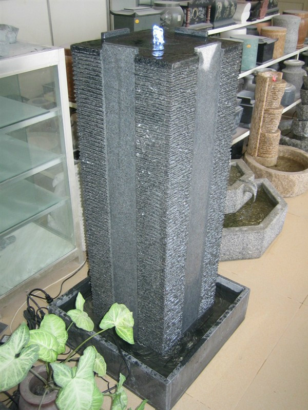 Black Granite Fountains