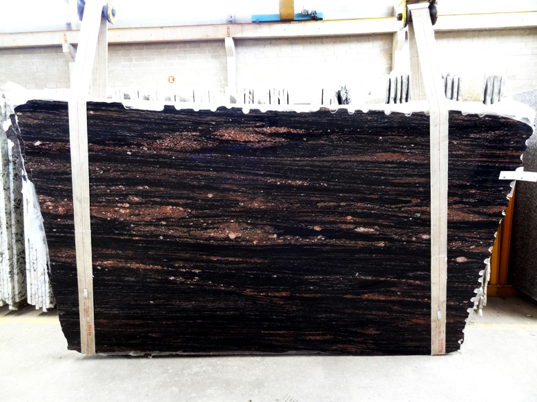 Black Malibu Quartzite Slabs