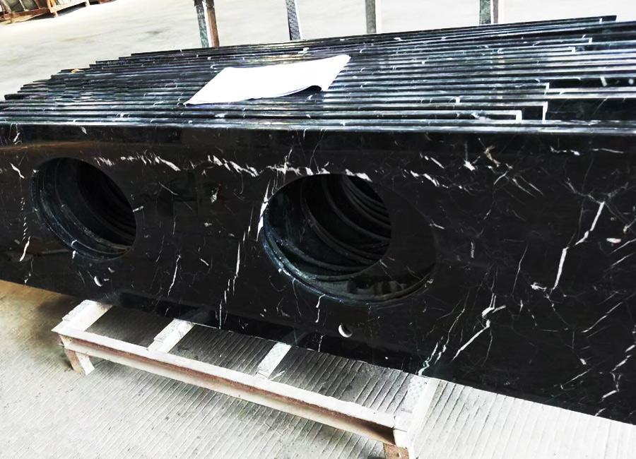 Black Marble Vanity Top