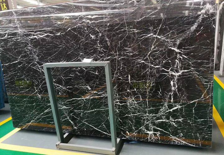 Black Marble with White Veins from China Supplier