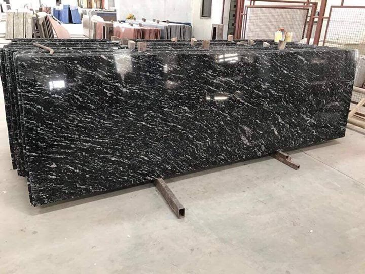 India Ask Price Black Markino Granite Countertops For Kitchen Tops