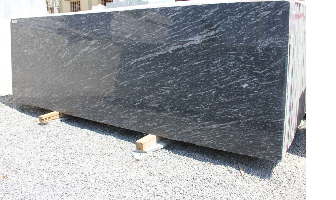 Black Markino Granite Polished Black Granite Slabs
