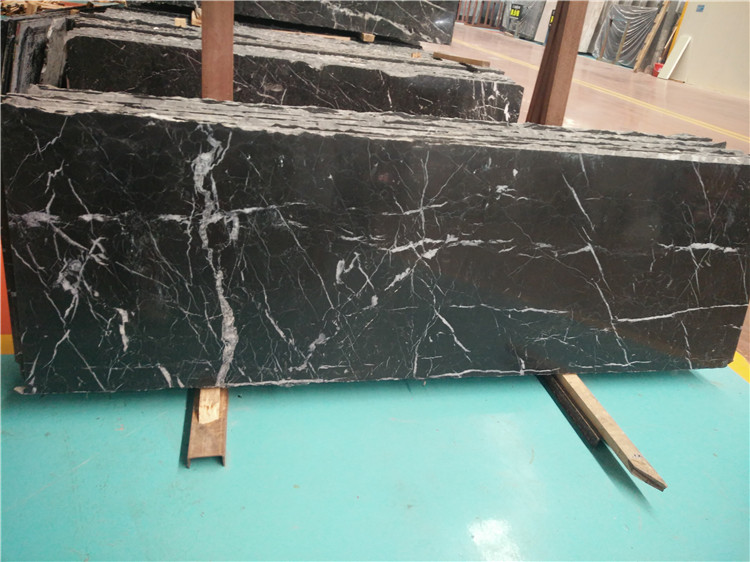 Black Marquina Marble Countertops