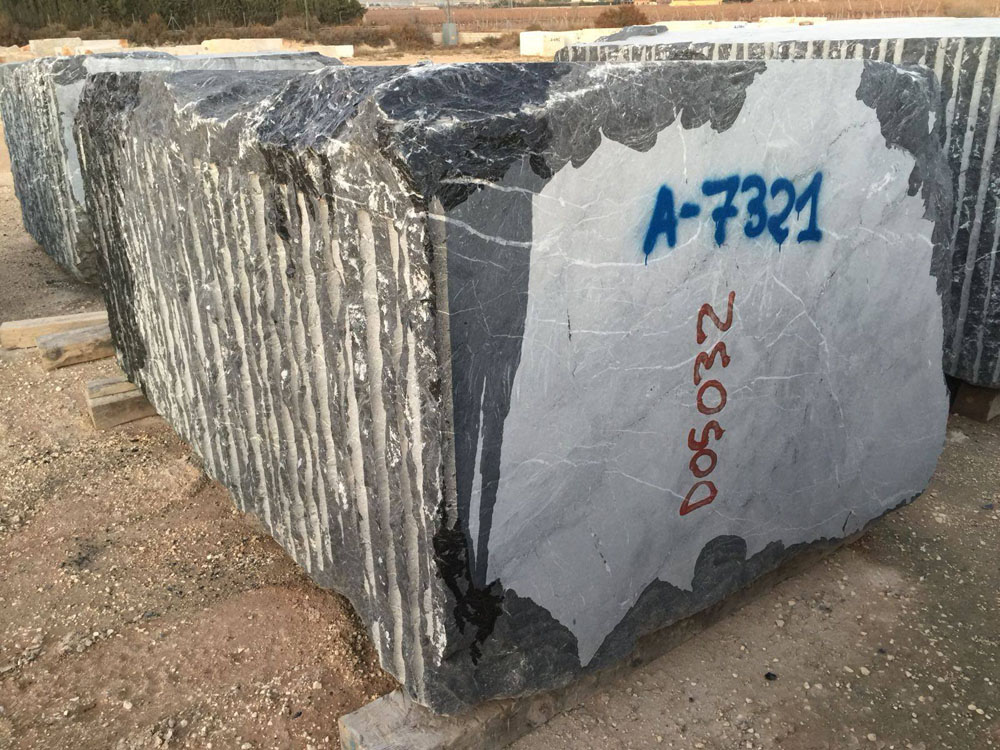 Black Marquina Marble Natural Stone Blocks