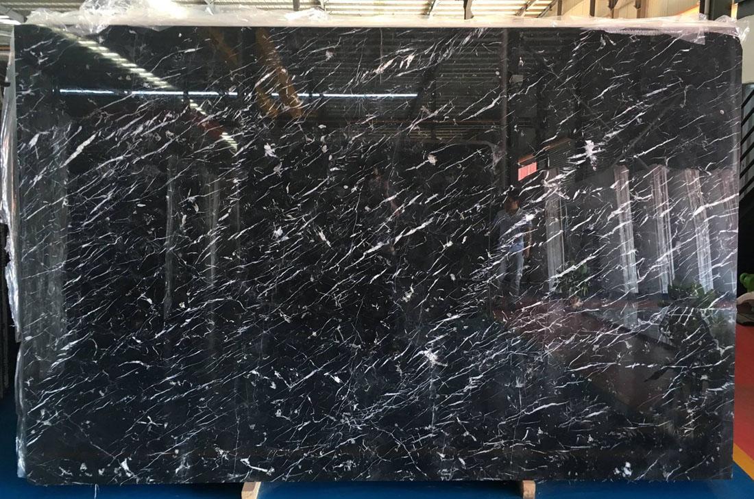 Black Marquina Stone Slab Chinese Black Marble Slabs
