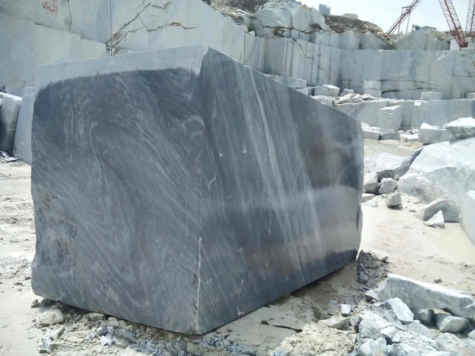 Black Ocean Marble Blocks Indian Marble Natural Blocks