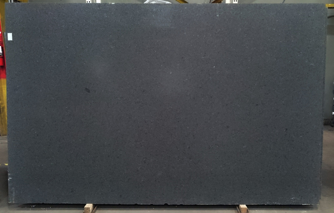 Black Pearl Granite Slab Honed