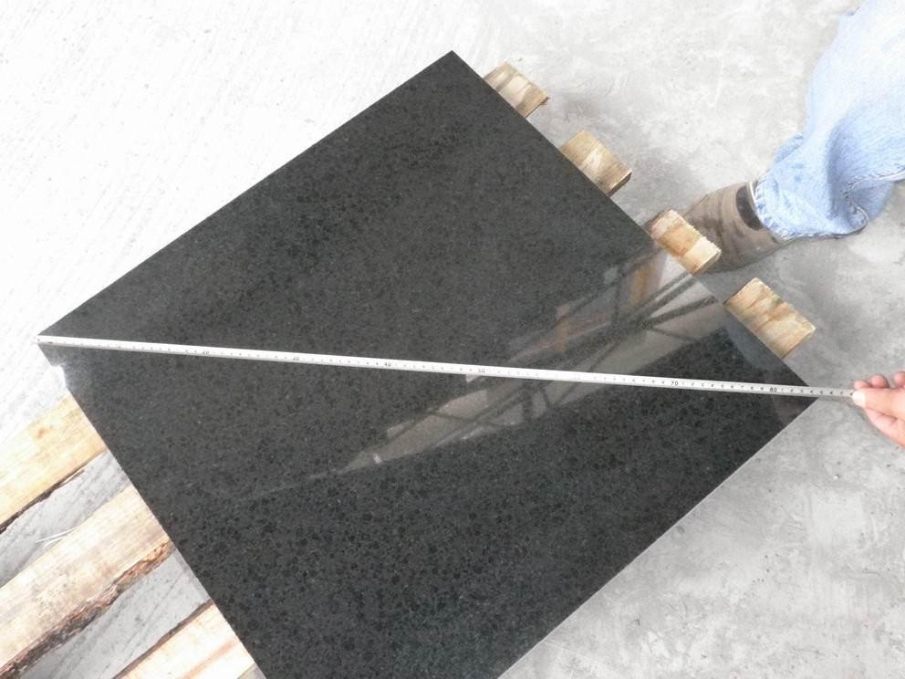 Black Polished Granite Tiles G684 Granite Tiles