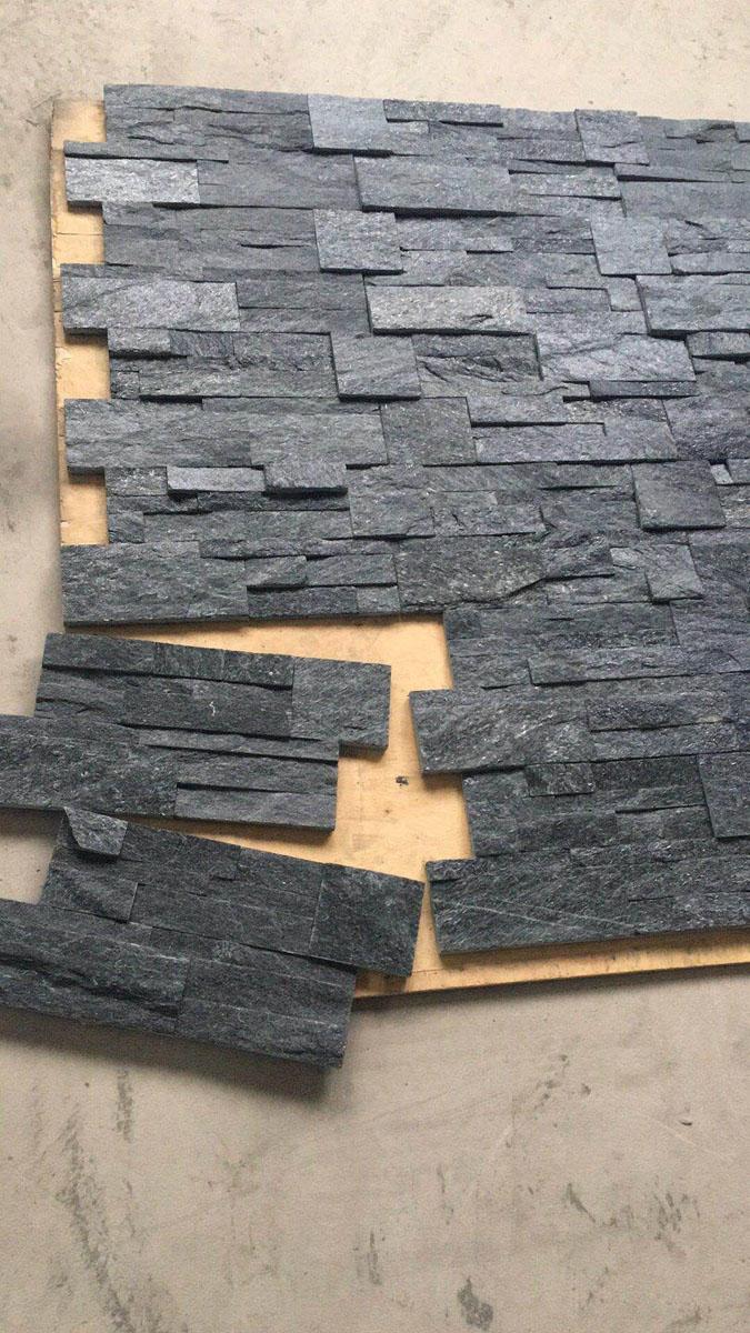 Black Quartzite Culture Stone