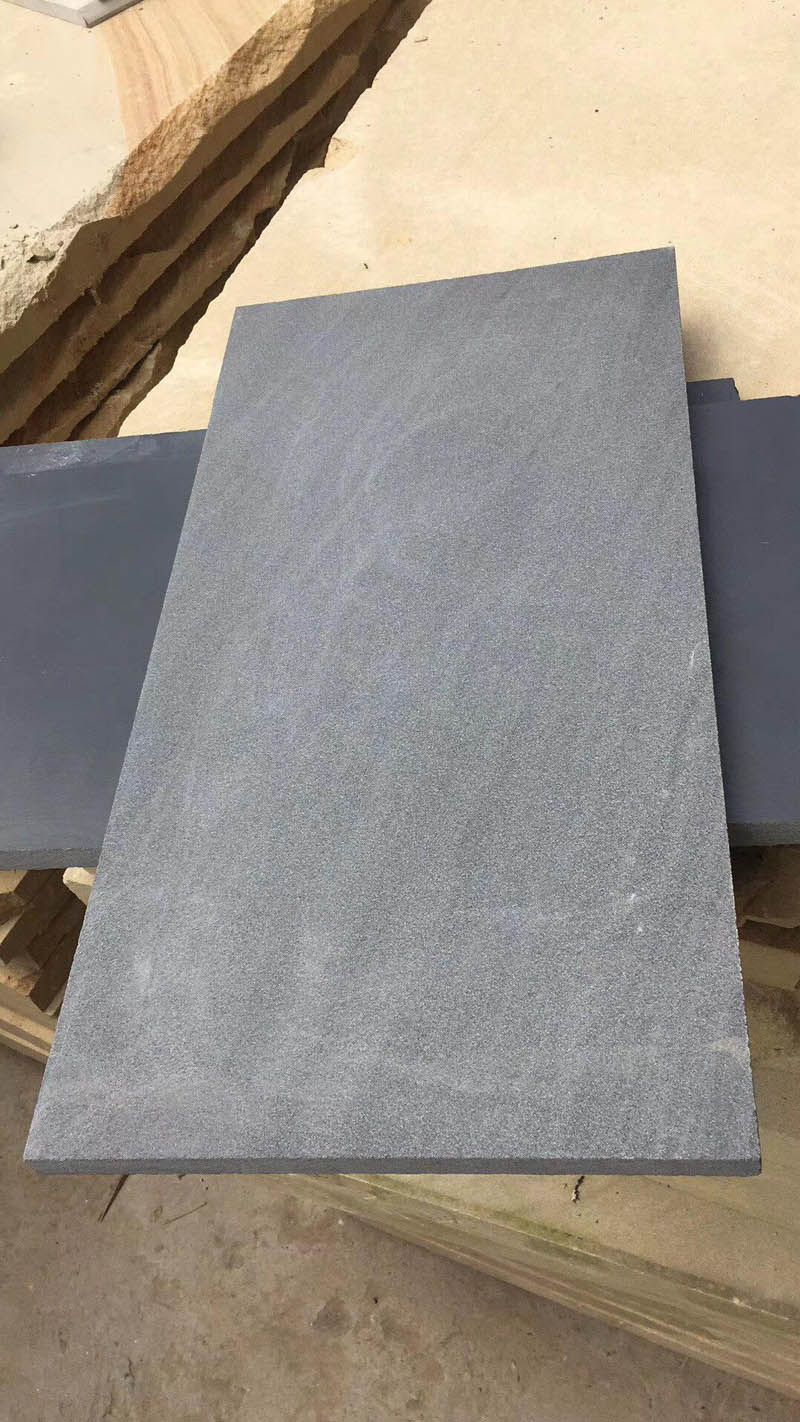 Black Sandstone Tiles from Chinese Supplier
