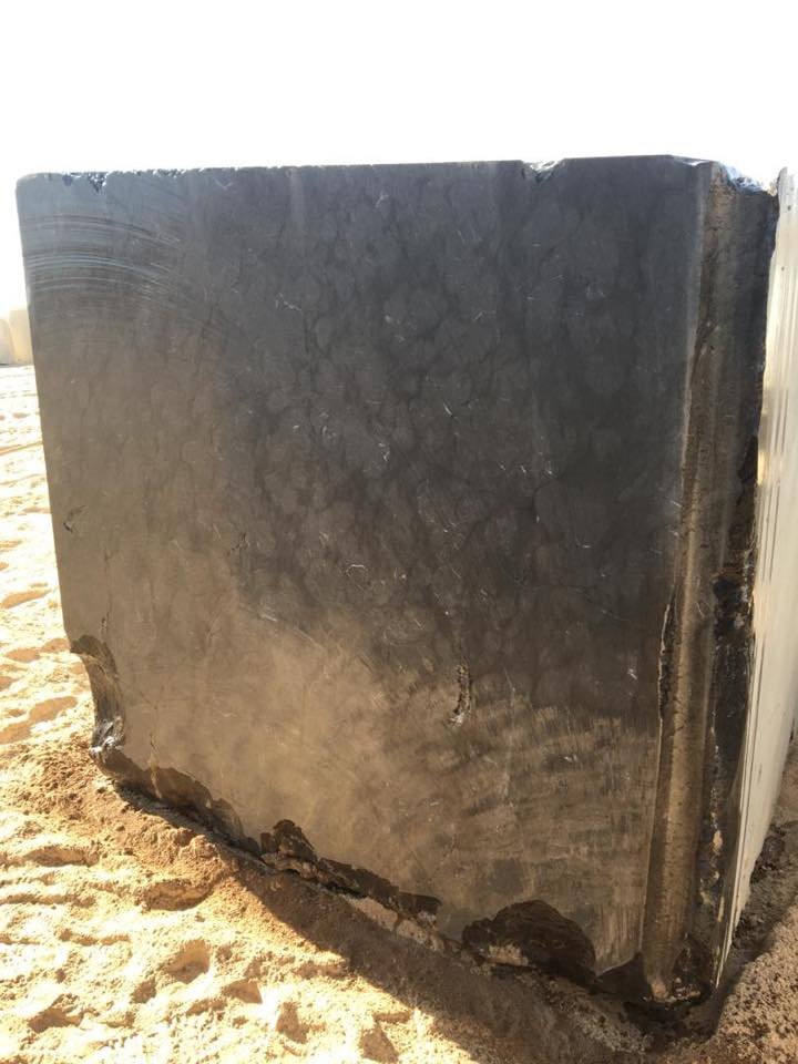 Black Sea Marble Blocks Iranian Black Marble Blocks