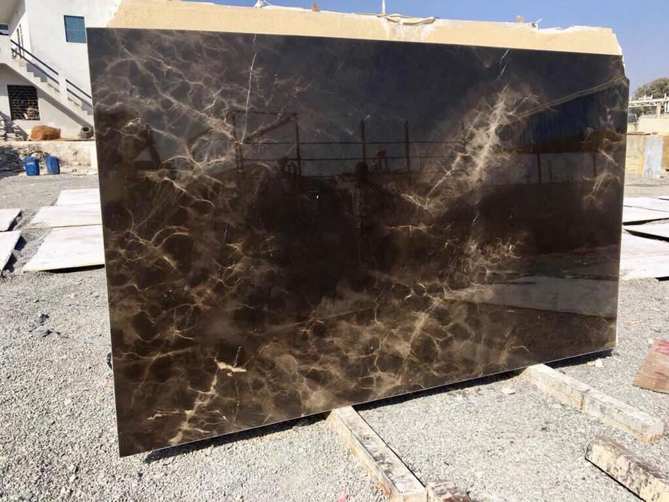 Black Sea Marble Slabs Polished Black Marble Slabs from Iran