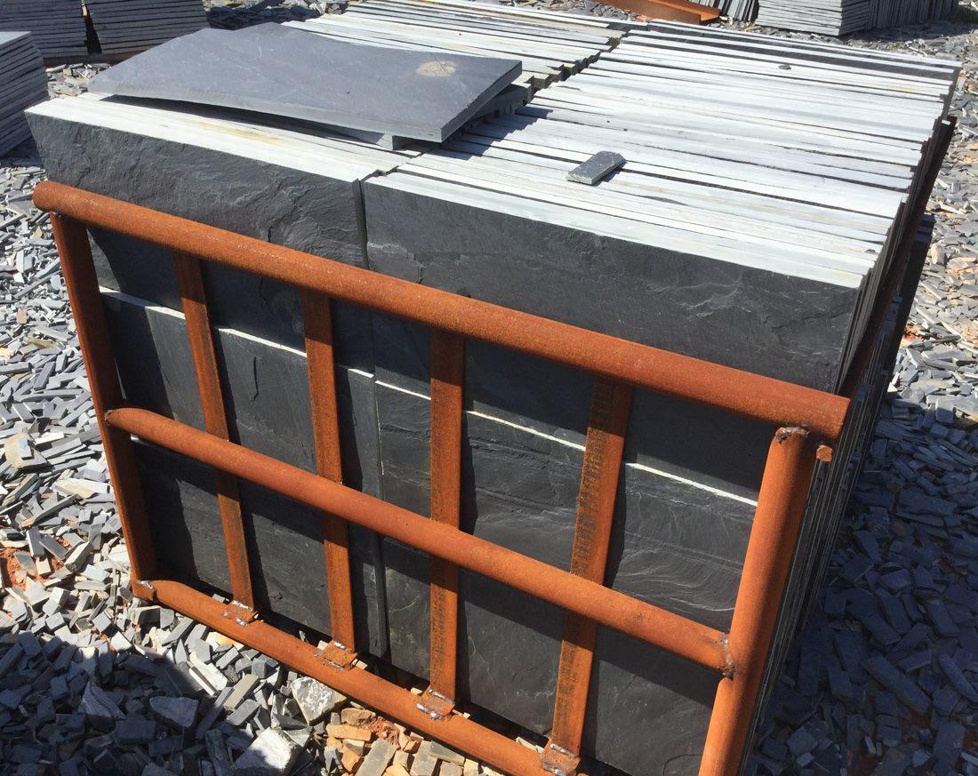 Black Slate Tiles for Flooring from China