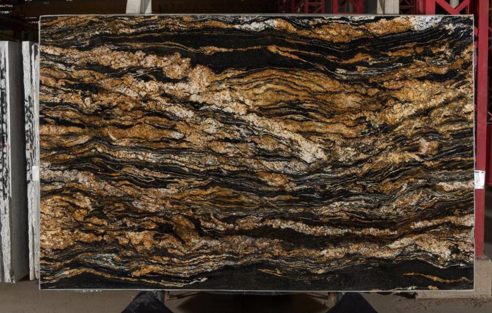 Black Taurus Granite Slabs Brazil Granite Slabs for Countertops