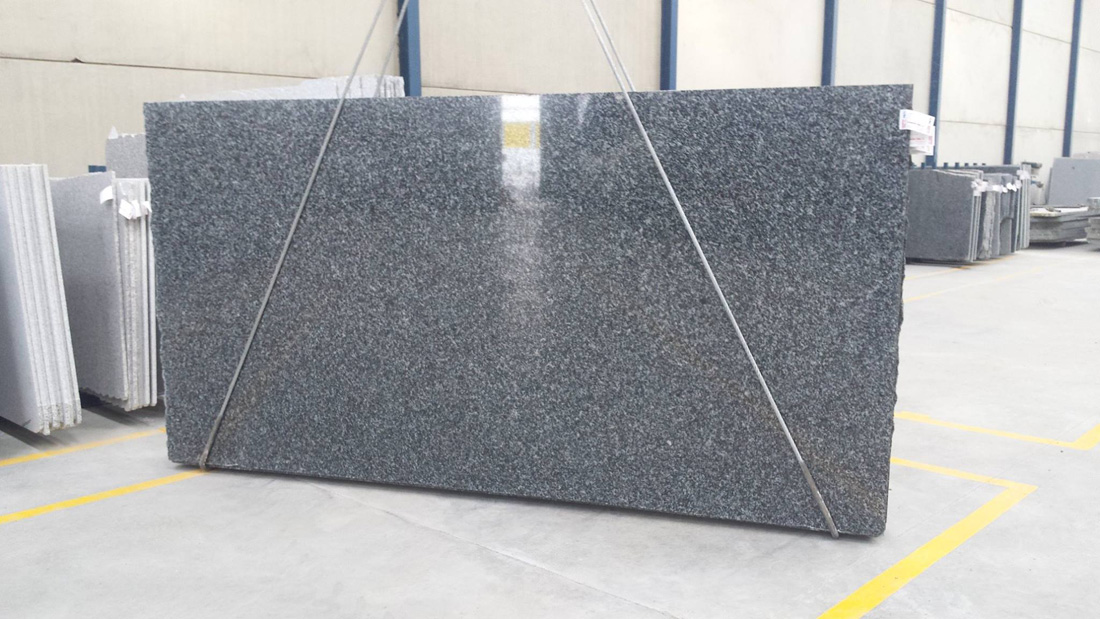 Black Tezal Granite Polished Granite Slabs