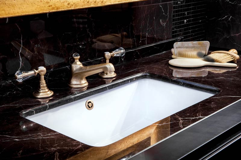 black marble countertop vanity tops