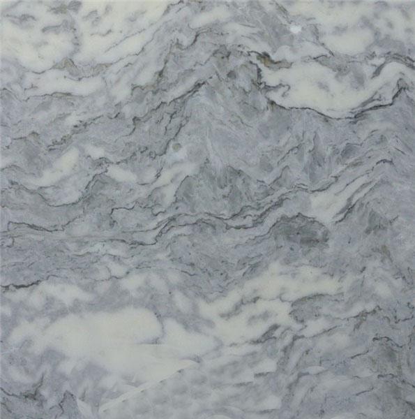 Black Spot White Marble