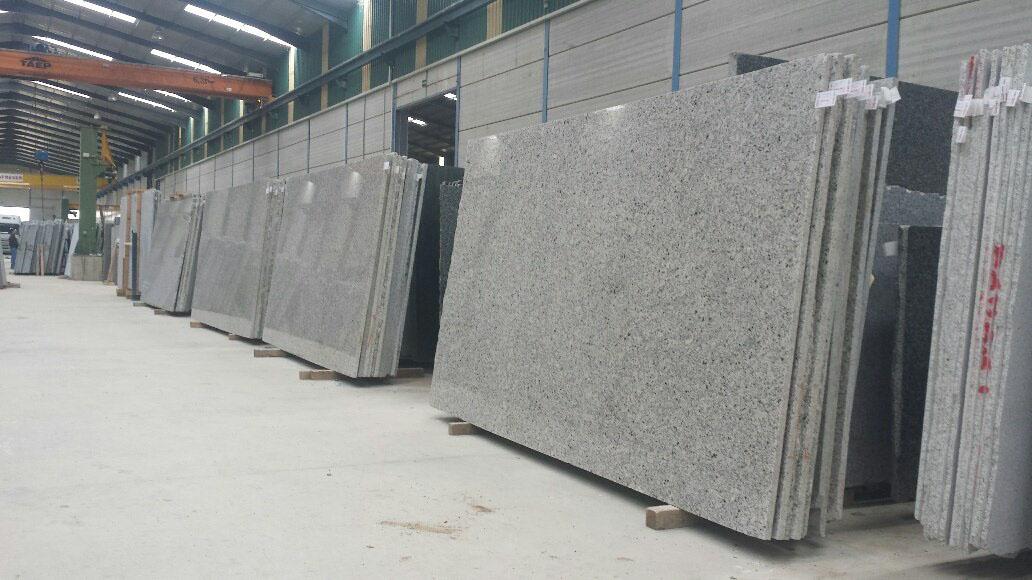 Blanco Amanecer Granite White Polished Granite Slabs